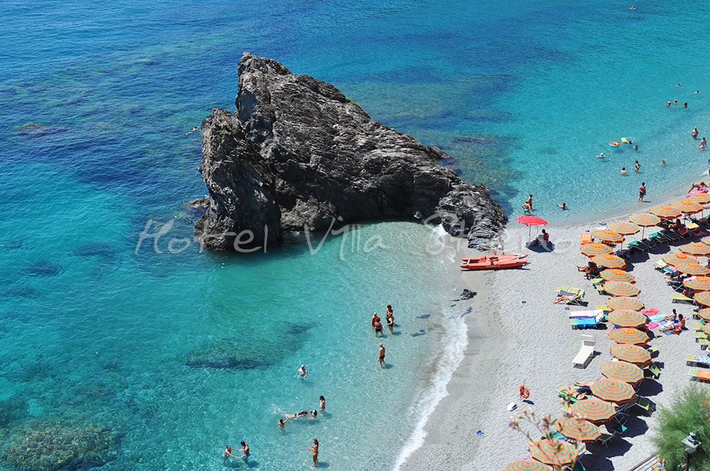Ina Beach Monterosso Al Mare Cinque Terre Liguria Italy