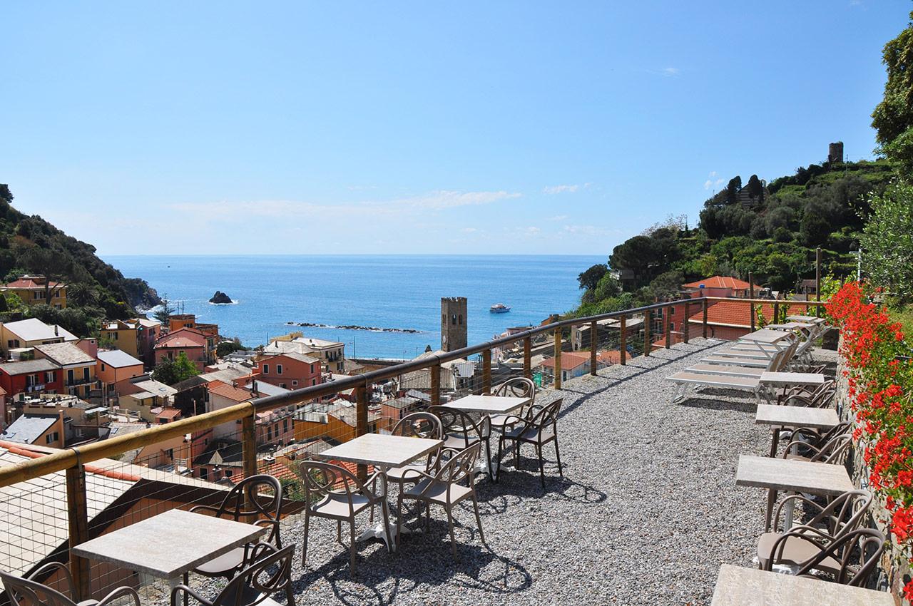 Breakfast With A View Hotel Villa Steno Monterosso Al Mare Cinque Terre Liguria Italy